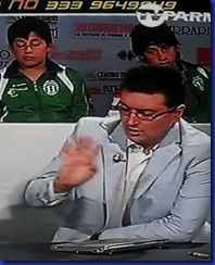 Vanni Zagnoli a Tv Parma qualche anno fa