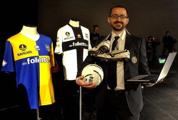 Mattia Pia ha ideato lastatistica.com. Collabora con Gazzetta di Parma e Gazzetta dello Sport. Foto Marco Vasini