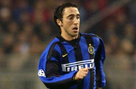Domenico Morfeo con la maglia dell'Inter