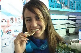 Alessia Mesiano, 25 anni, poliziotta, è campionessa del mondo di pugilato,