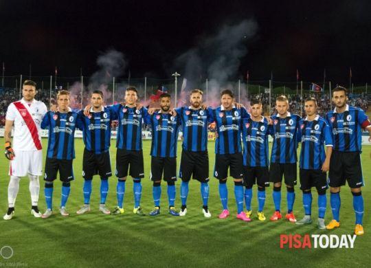 La squadra del Pisa.