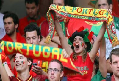 I tifosi portoghesi festeggiano la vittoria ad euro 2016