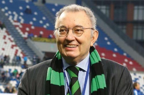 Giorgio Squinzi, Patron del Sassuolo