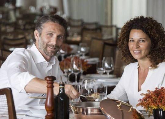 Paolo Lavezzini con la fidanzata Eleonora