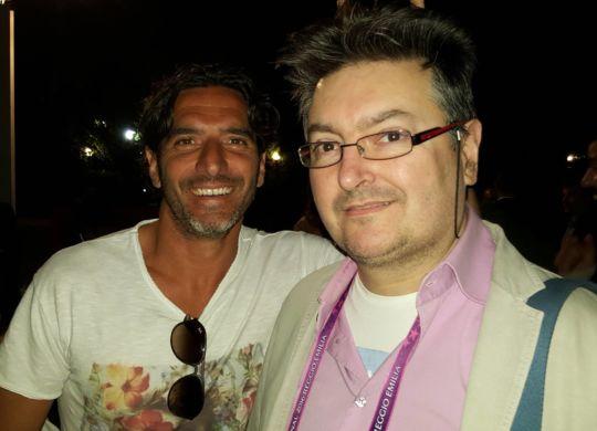 Vanni con Alessandro Lucarelli ex capitano del Parma