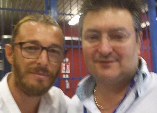 Andrea Balzaretti con Vanni