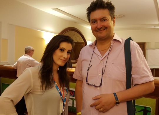 Elisa Donatini con Vanni