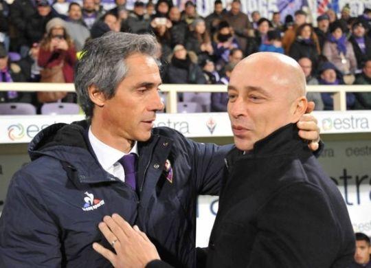 Sousa e Corini (foto da quotidiano.net)