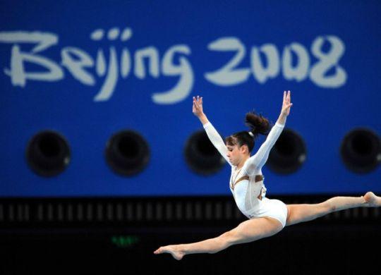 Vanessa Ferrari alle Olimpiadi di Pechino 2008 dove si è classificata undicesima (foto donnamoderna.it)