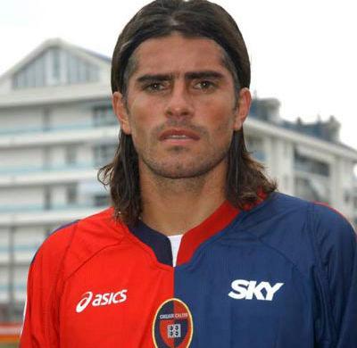 Diego Lopez quando giocava nel Cagliari