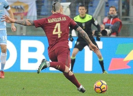 Radja Nainggolan ha battutto il suo record: con la doppietta di ieri è arrivato a 7 gol contro i 6 della scorsa stagione Foto Antonio Fraioli)