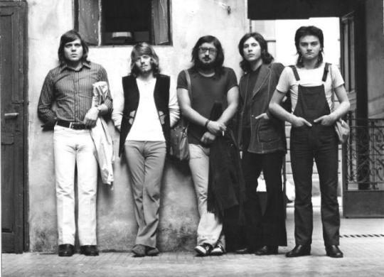 I Nomadi nel 1972 con Augusto Daolio al centro