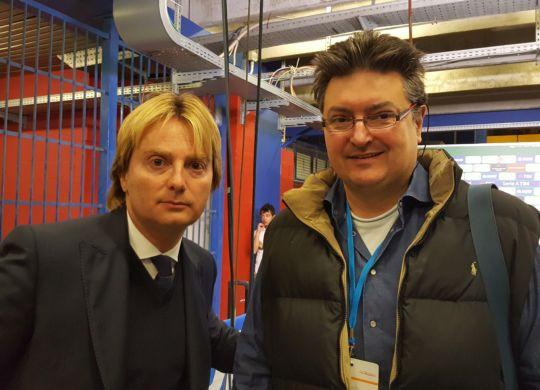 Vanni con Stefano De Martino, pr Lazio, ex ministeriale