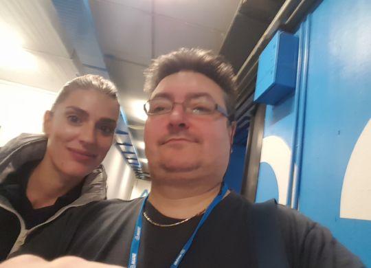 Con Francesca Piccinini, la più amata dagli italiani