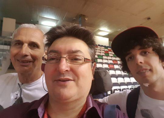 Vanni con Carlo e Amedeo Della Valle