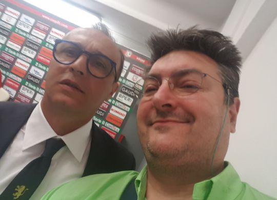 Vanni con Pasquale Marino
