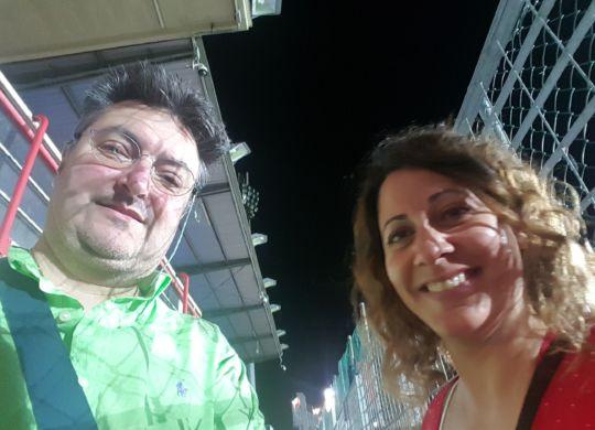 Vanni con Elisa Zironi, ex E' tv Antenna1 Modena