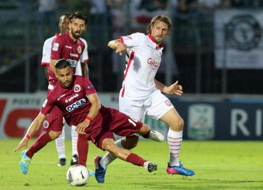 Lollo ha segnato il primo gol per il Carpi (carpifc1909)