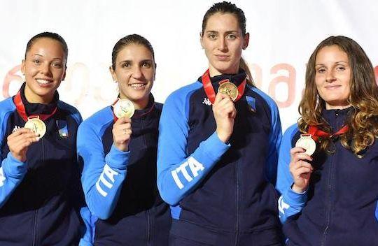 Le campionesse del fioretto (gonews.it)