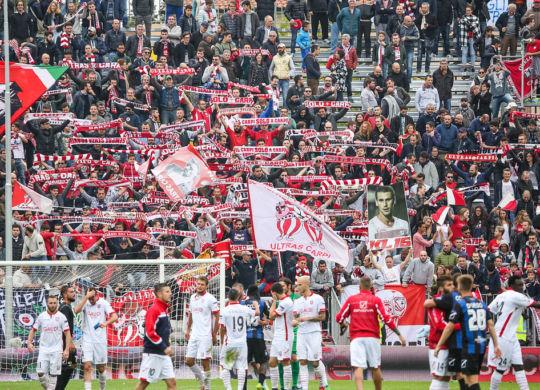 I tifosi del Carpi al Cabassi (carpicalcionews.it)