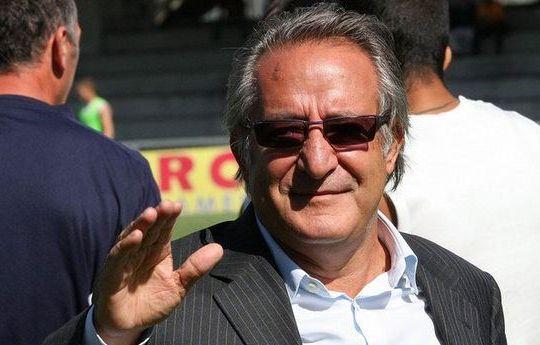 Il presidente sannita Oreste Vigorito