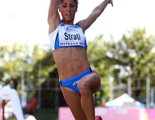 Laura Strati ha vinto nel lungo (atleticanotizie.myblog.it)