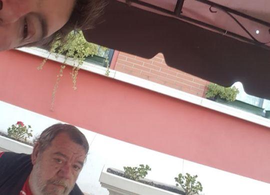 Con Gianni Mura