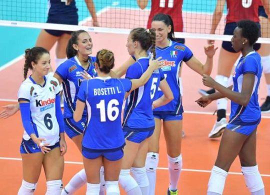 L'Italia è in semifinale (volleyball.it)