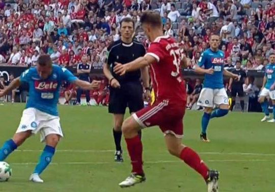 Uno dei rari gol di Giaccherini nel Napoli (calcionapoli1926.it)