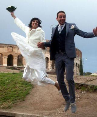 Marzia Caravelli si è sposata ad aprile (fidal.it)