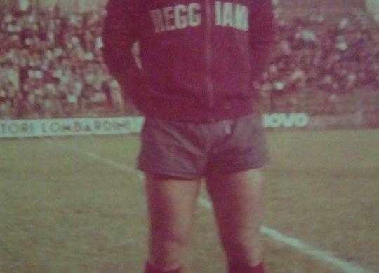 Tiziano Marmiroli con la maglia della Reggiana