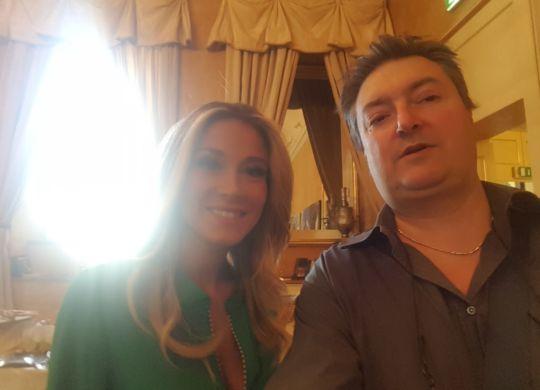 Con Diletta Leotta