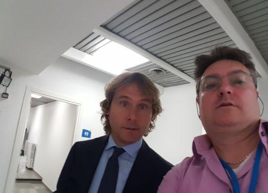 Con Pavel Nedved, pallone d'oro della Rep. Ceca, come solo Masopust