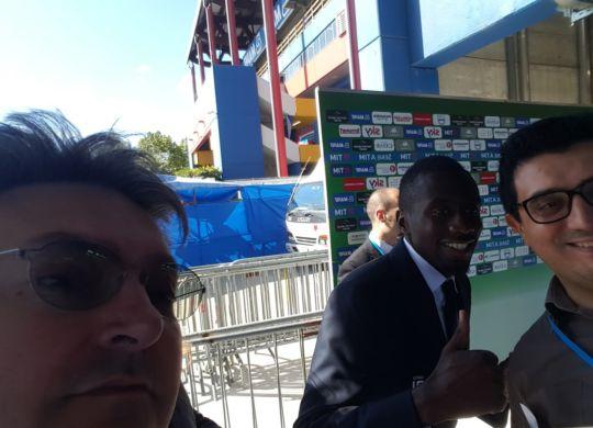 Con Matuidi, francese della Juve