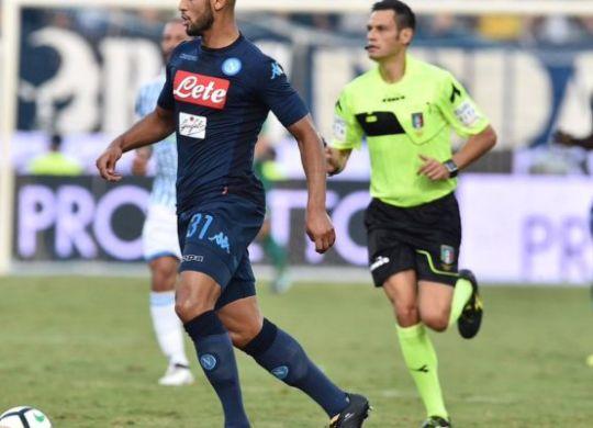Faouzi Ghoulam difensore del Napoli e della nazionale algerina (contra-ataque.it)