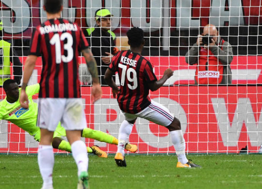 Il gol di Kessie (tuttosport.com)