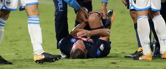 Infortunio al ginocchio per Milik (sport.ilmattino.it/Mosca)