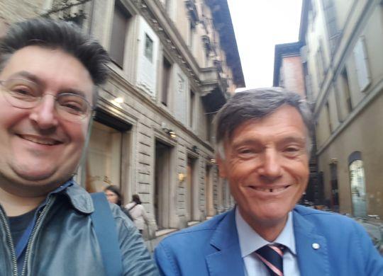 Con Giorgio Cimurri