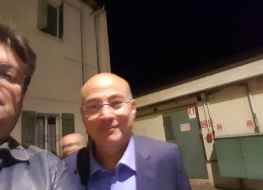 Con Aldo Cazzullo