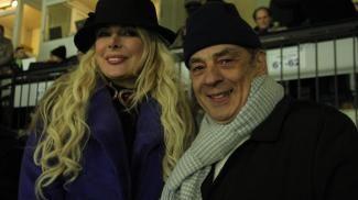 Antonio Caliendo con la consorte Alessandra Canale (ilrestodelcarlino.it)