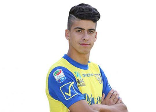 Fabio Depaoli centrocampista del Chievo (tggialloblu.it)
