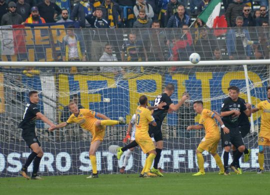 Il gol di Modolo (lapresse/Marinoni)