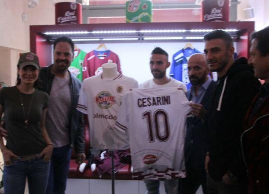 La nuova seconda maglia della Reggiana