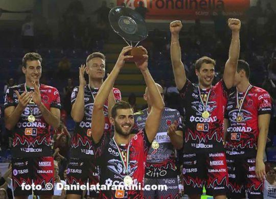 Perugia nella prima giornata affronta la Kione Padova (volleyball.it)