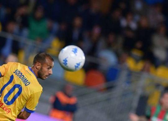Soddimo ha segnato il primo gol del Frosinone (lapresse)