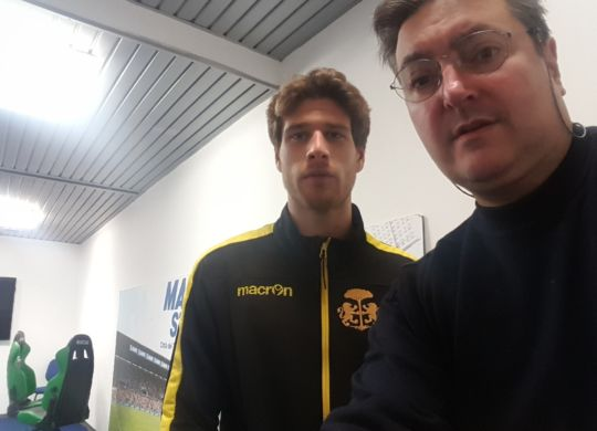 Con Amedeo Ballardini