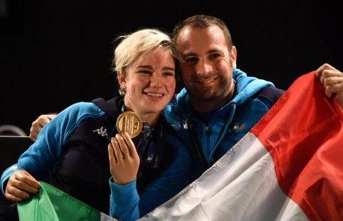 Bebe Vio e Simone Vanni (gazzetta.it)