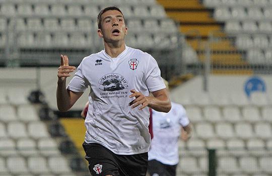 Claudio Morra ha deciso il derby del Piola (Ivan Benedetto)