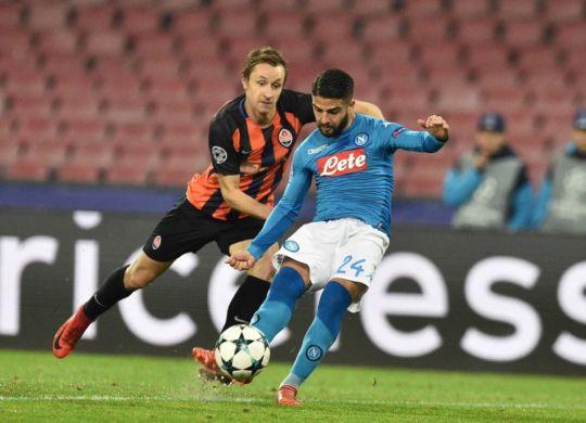 Lorenzo Insigen ha segnato il primo gol del napoli (calciomercato24.com)