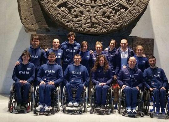 La nazionale italiana di nuoto paralimpico (oasport.it)